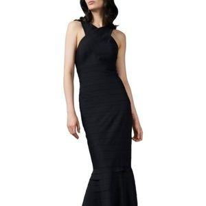 Kay Unger Dresses - Kay Unger Halter Neck Evening Gown
